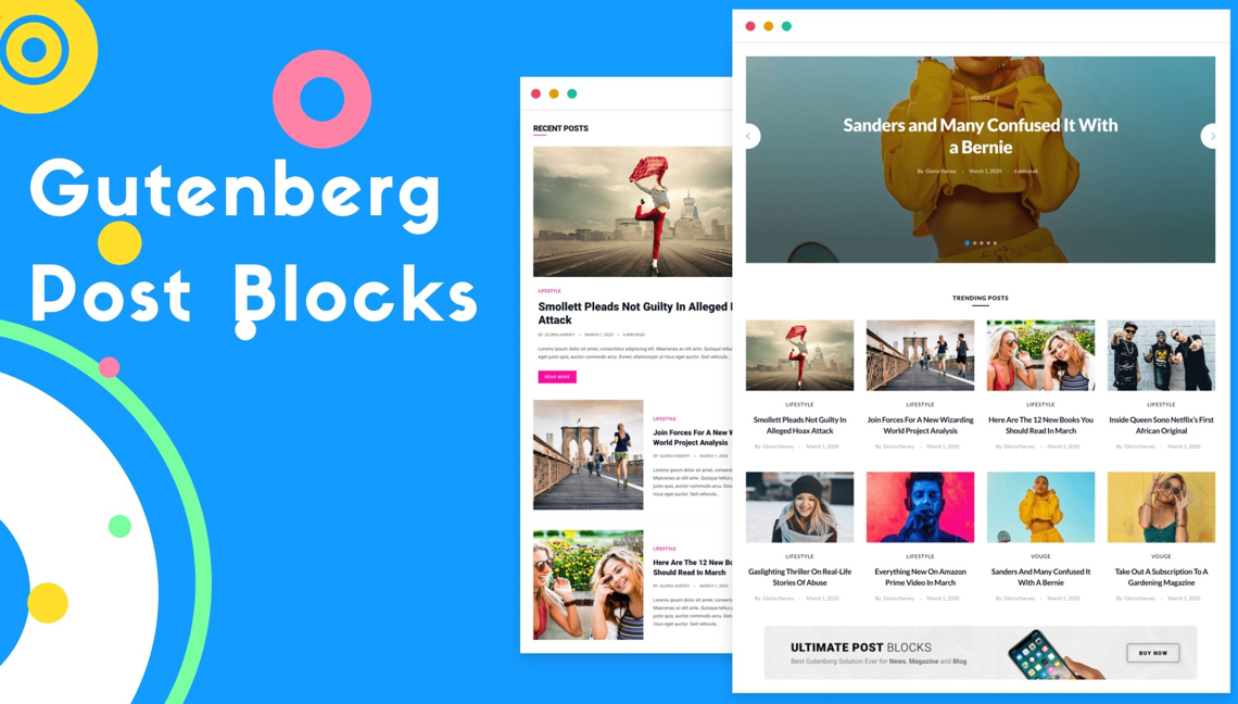 Gutenberg Post Blocks  - #1 Best Post Blocks Plugin 1