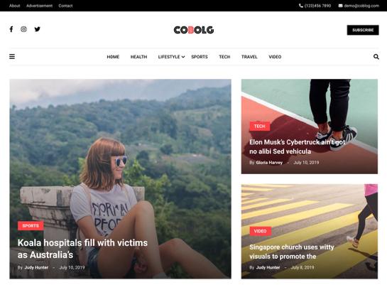 Coblog Theme