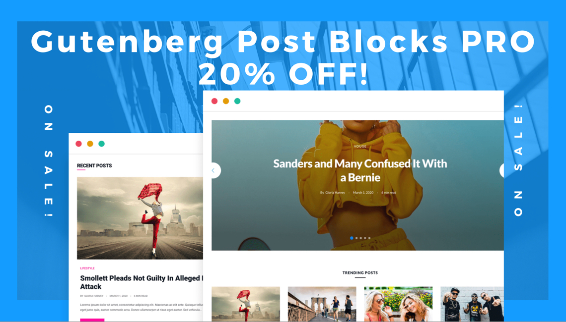 Gutenberg Post Blocks PRO