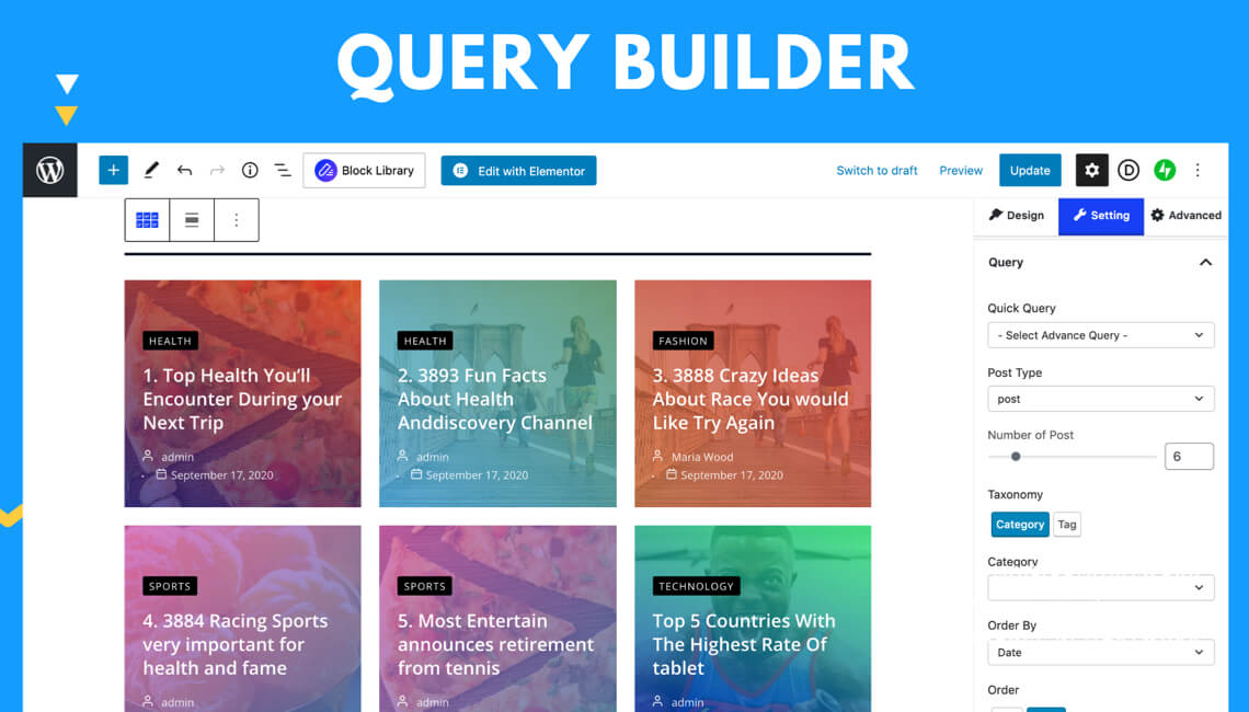 WordPress Query Builder