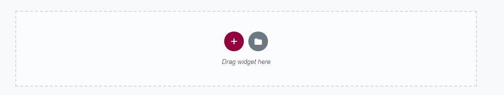 Drag Widget Here