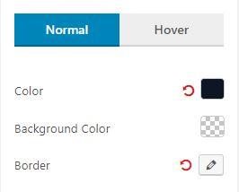 Filter Normal Settings