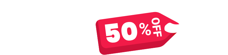 black friday 50% off sales