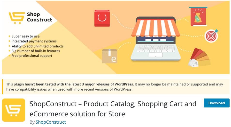 ShopConstruct - Product Showcase Plugin