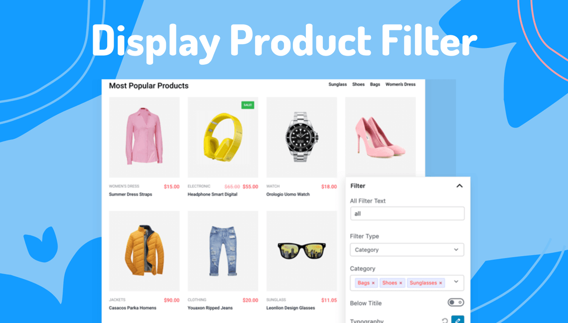 How To Display Product Filter In WooCommerce 2