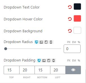 ProductX - Dropdown Settings