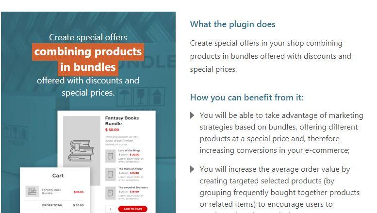 A Product Bundle Plugin