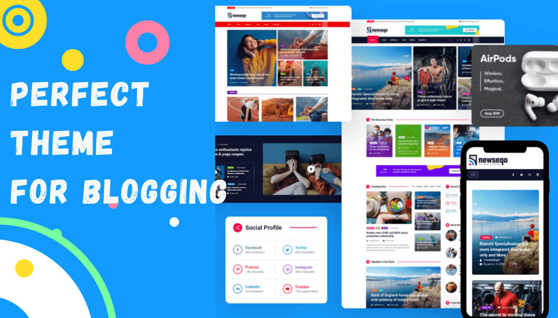Introducing Newseqo – The Perfect Theme for Your News & Magazine