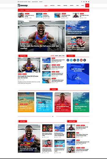 Introducing Newseqo - The Perfect Theme for Your News & Magazine 2