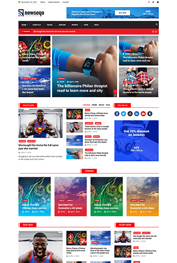 Introducing Newseqo - The Perfect Theme for Your News & Magazine 5