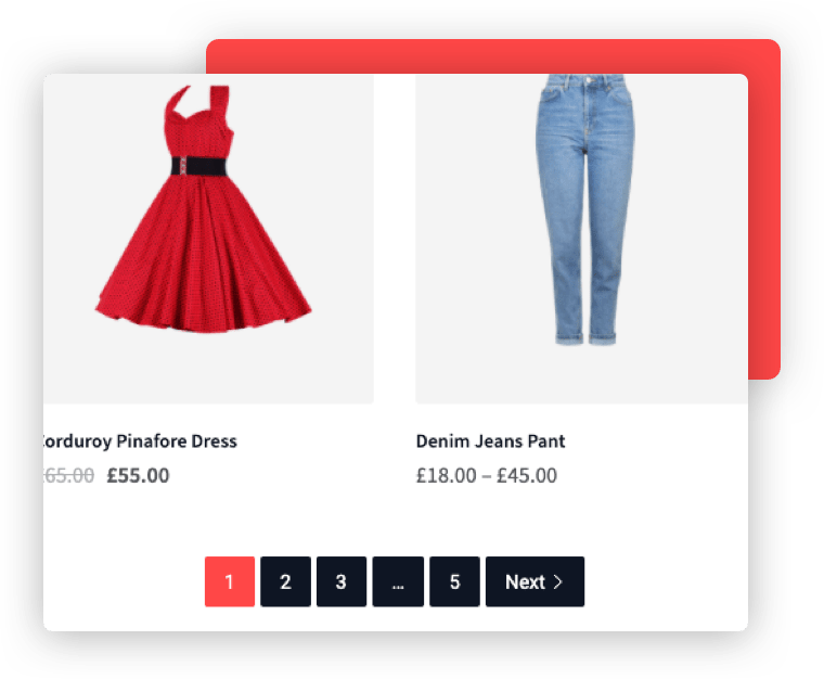 Product Pagination