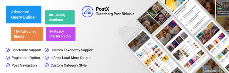 PostX – Gutenberg Blocks for Post Grid