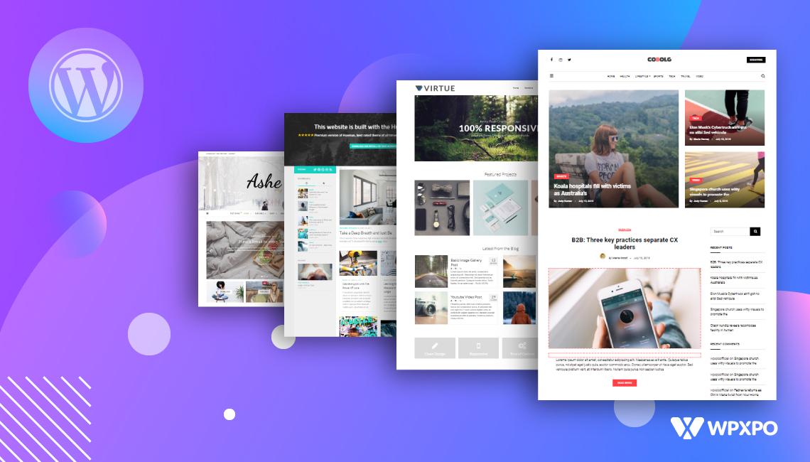 best free WordPress magazine themes