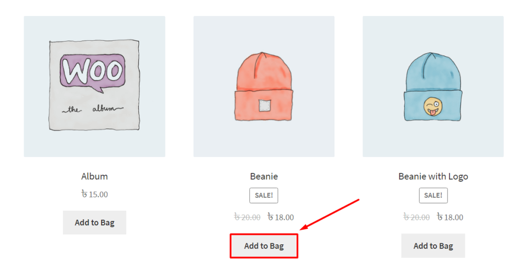 Change in the WooCommerce Product Archive Page