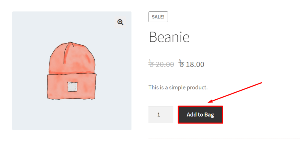 WooCommerce Add to Cart Button Text Change in the Single Product Page: