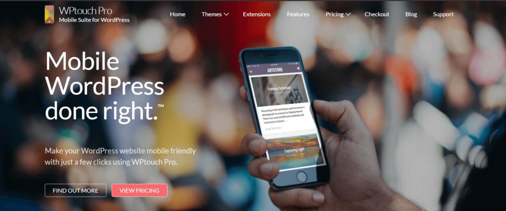WPtouch_WordPress_Mobile_Friendly Plugin