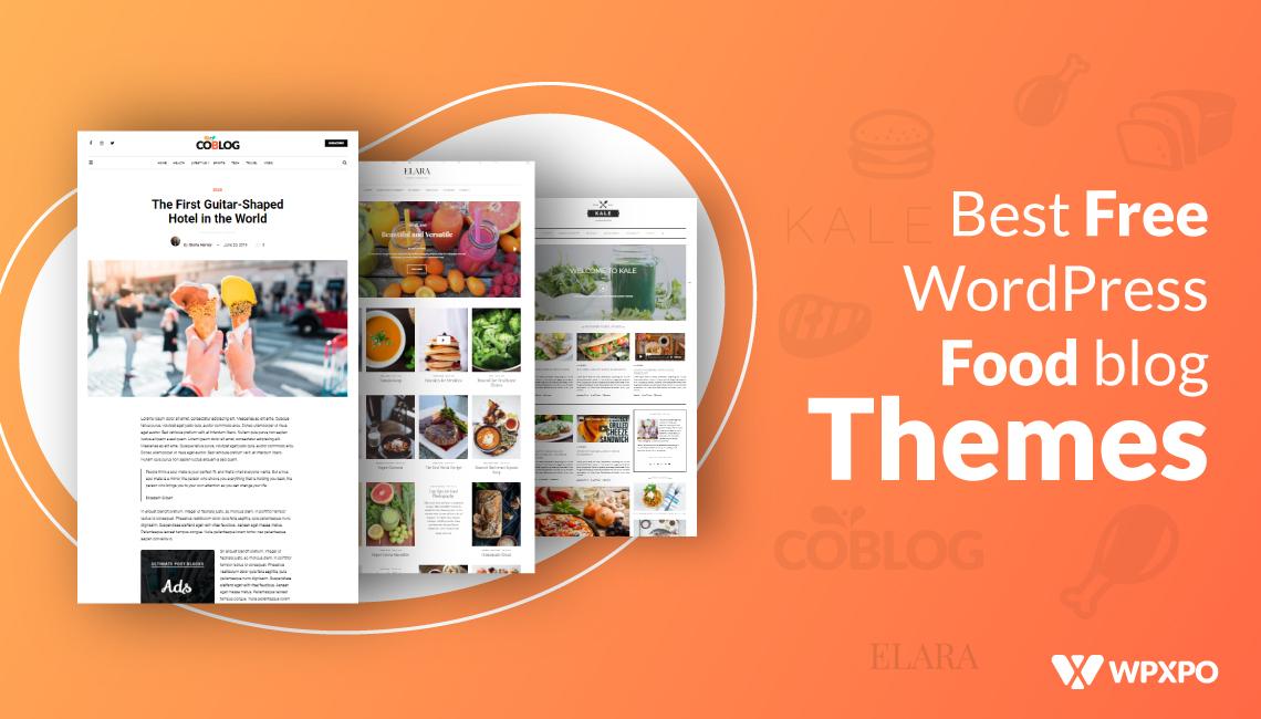 Best Free WordPress Food blog themes