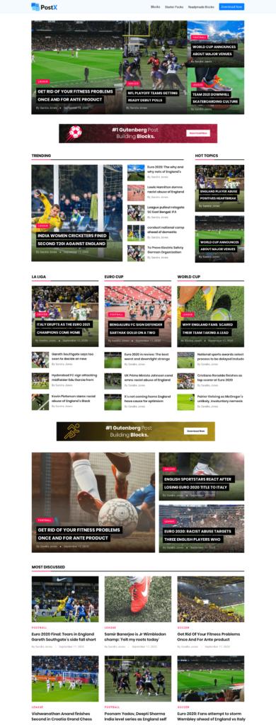 Sports News Starter Pack