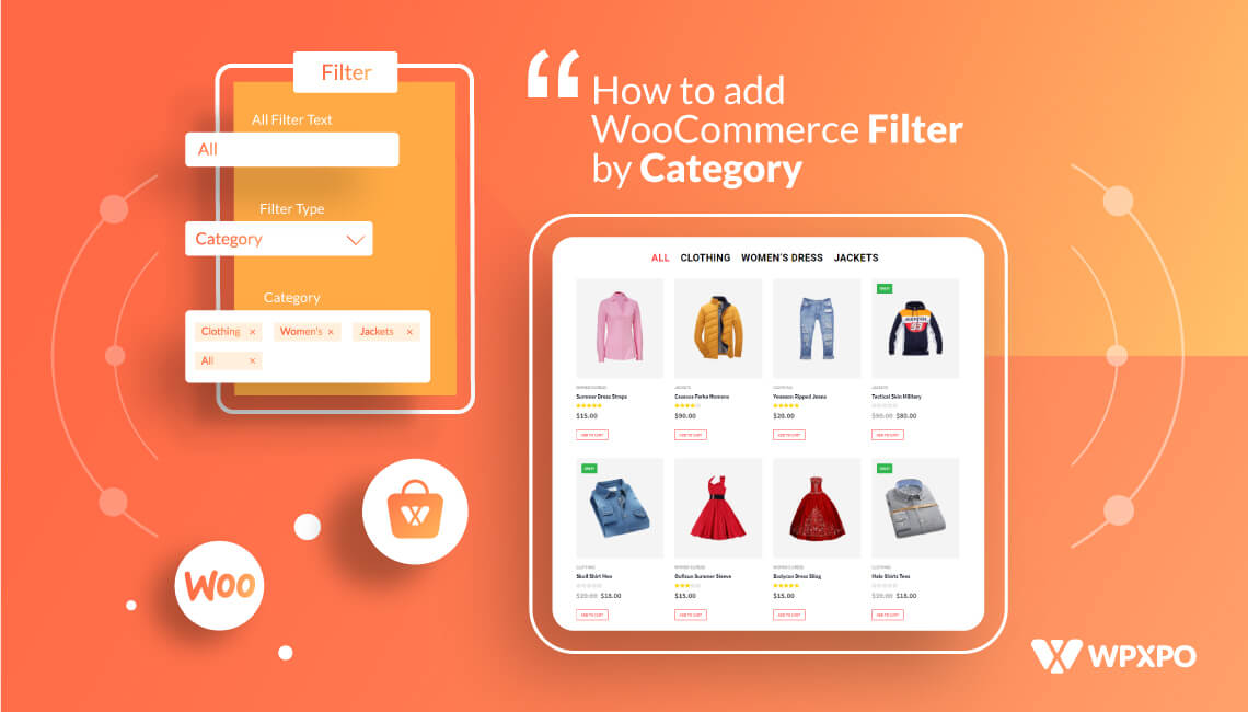 WooCommerce Filter by Category