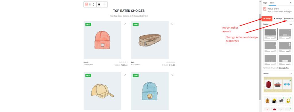 WooCommerce Advanced Query Builder options