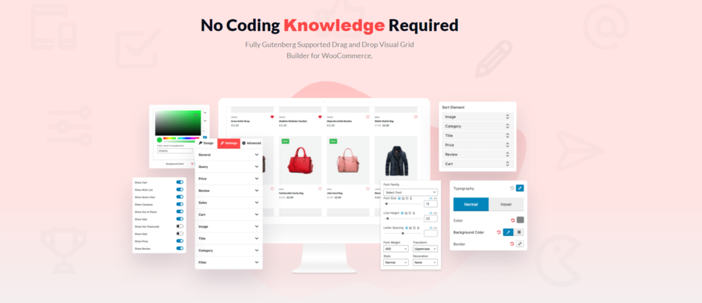 No coding knowledge required