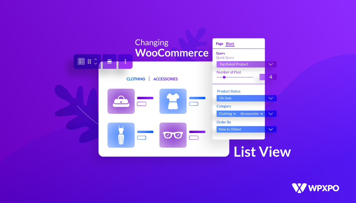 How to Change WooCommerce Product List View