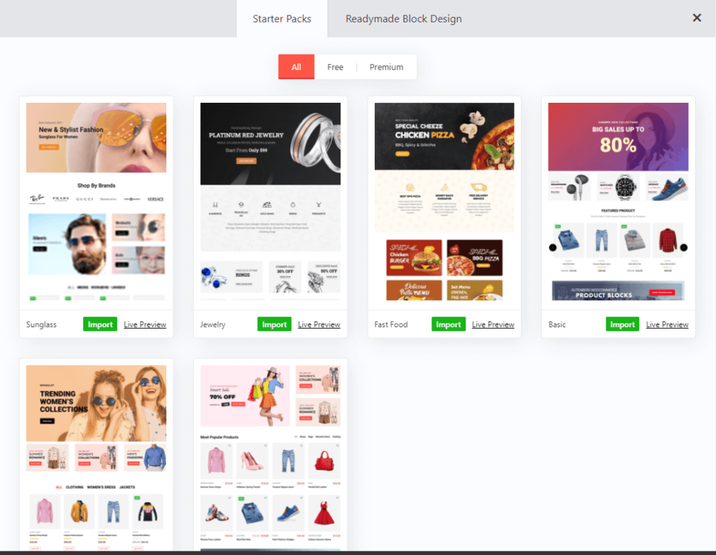 The best WooCommerce Products Blocks Plugin 2