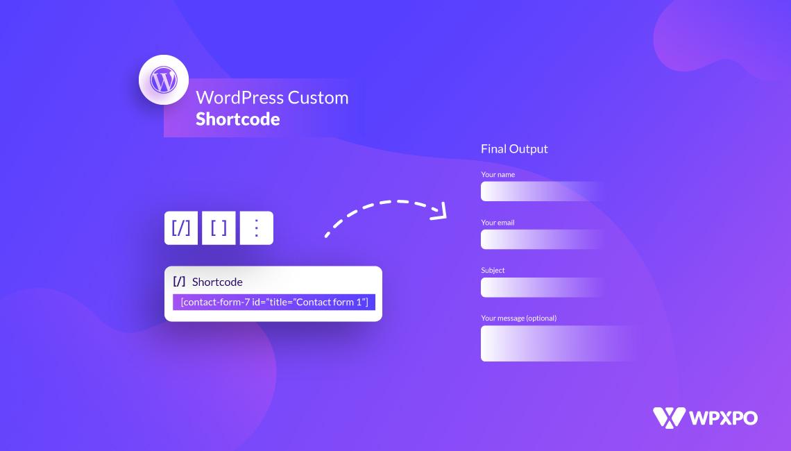 Wordpress-Custom-Shortcode