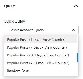 Quick Query